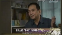 "Dr. Bibiano ""Boy"" Fajardo explains how Hilot works on ABS-CBN's ""Hiwaga."" Screengrab from http://www.iwantv.com.ph/TV/Video/Pinoy-True-Stories-Hiwaga/554/"