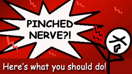 Pinched nerve? Here's what you should do!