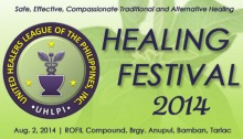 United Healers League of the Philippines, Inc. (UHLPI) Healing Festival 2014