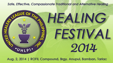 United Healers League of the Philippines, Inc. (UHLPI) Healing Festival 2014