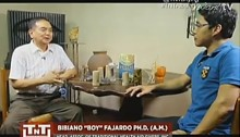 Albularyo Bibiano Boy Fajardo explains the science behind Hilot on Tapatan ni Tunying