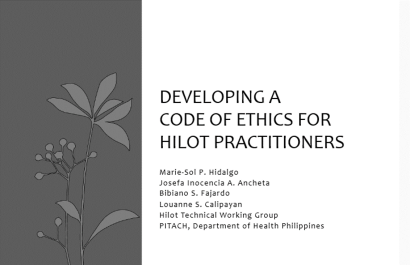 Hilot Code of Ethics ppt slide