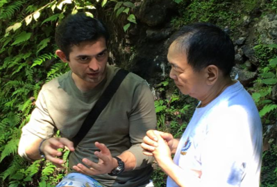 Bibiano Fajardo talks about Banahaw on the Green Mind