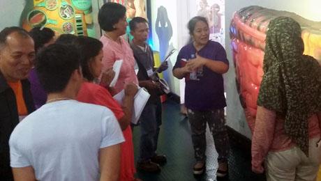 Hilot seminar at Museo Pambata