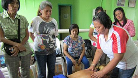 Kababaihan ng Maynila Hilot seminar